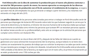 FORD EMPLEO
